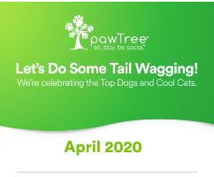 pawTree Recognizes these Top Company Achievers for April 2020!