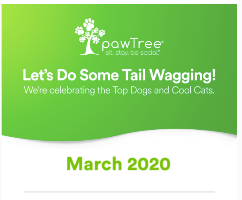 pawTree Recognizes these Top Company Achievers for March 2020!